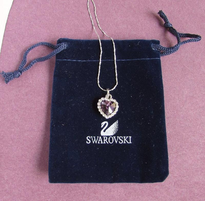🏵ювелирный кулон- подвеска сердце на цепи, новая! арт. 8561 - Фото 3