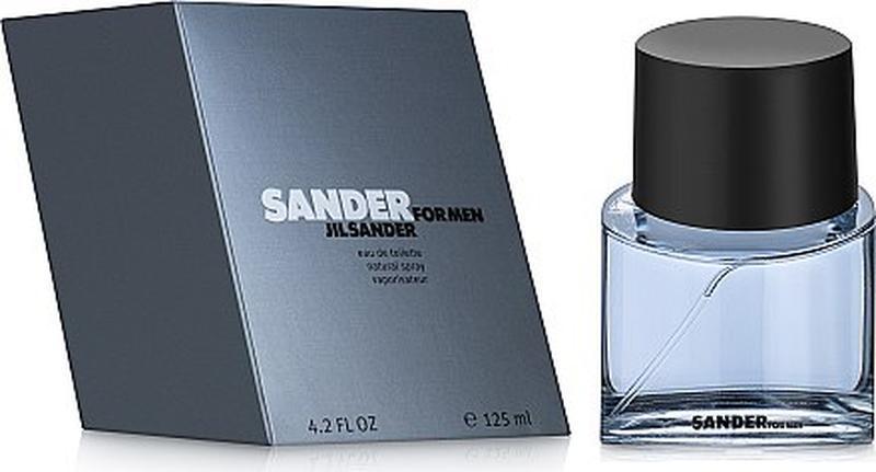 Jil sander sander for men мужская туалетная вода 125мл - Фото 2