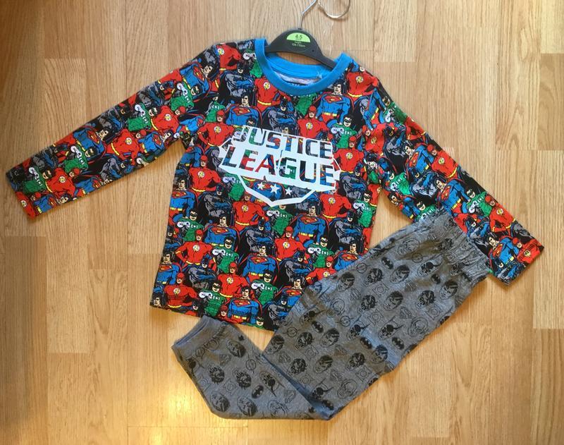 Пижама, набор пижам для мальчика george, герои marvel,р.104-11... - Фото 2