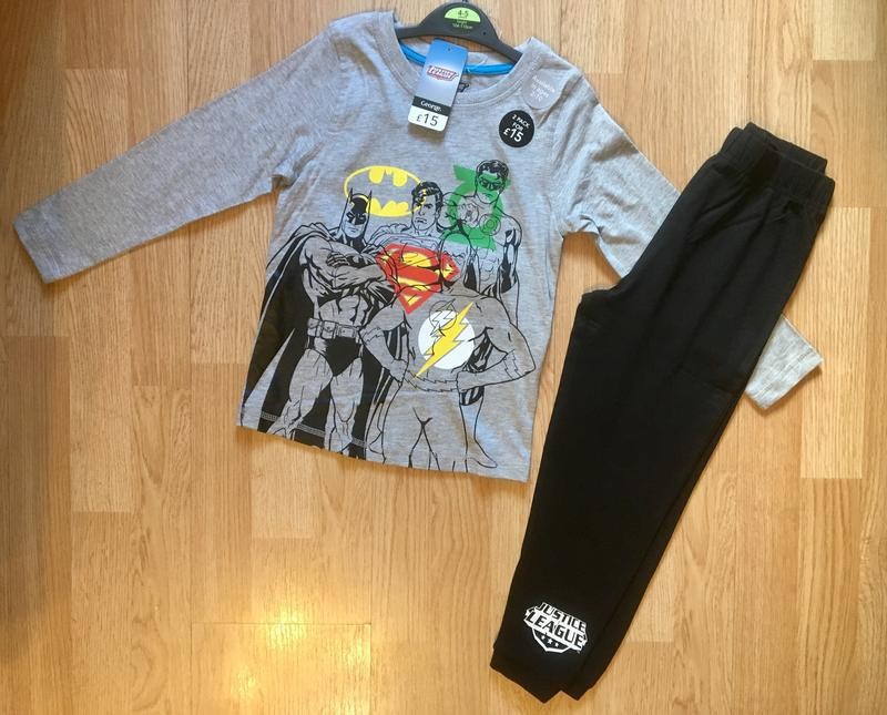 Пижама, набор пижам для мальчика george, герои marvel,р.104-11... - Фото 3