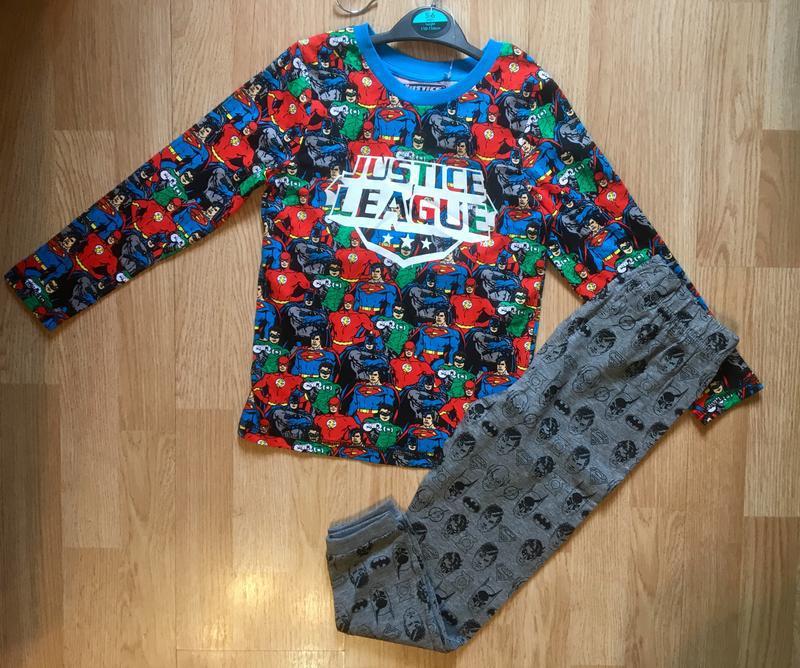 Пижама, набор пижам для мальчика george, герои marvel,р.104-11... - Фото 4
