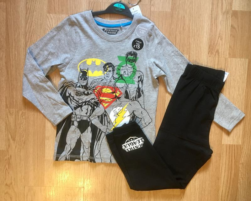Пижама, набор пижам для мальчика george, герои marvel,р.104-11... - Фото 5