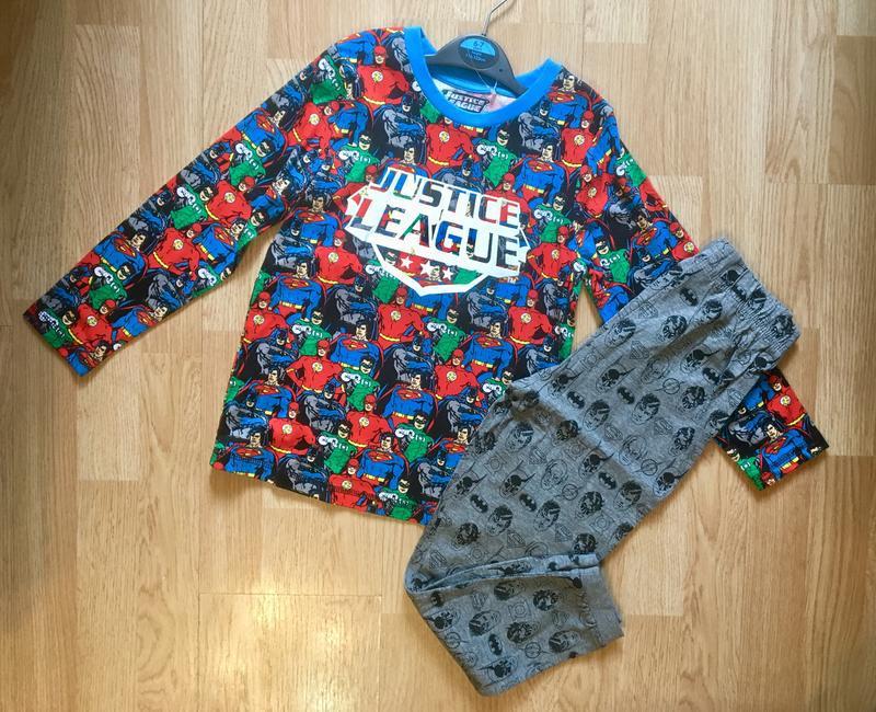 Пижама, набор пижам для мальчика george, герои marvel,р.104-11... - Фото 6