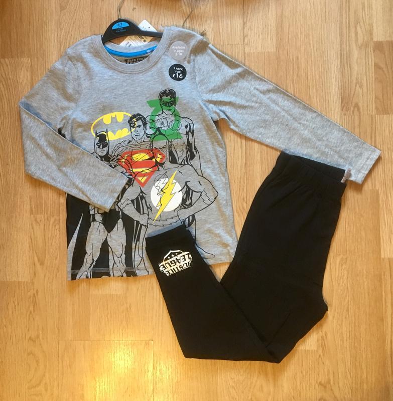 Пижама, набор пижам для мальчика george, герои marvel,р.104-11... - Фото 7