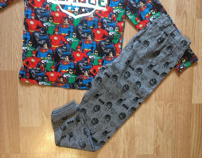 Пижама, набор пижам для мальчика george, герои marvel,р.104-11... - Фото 8