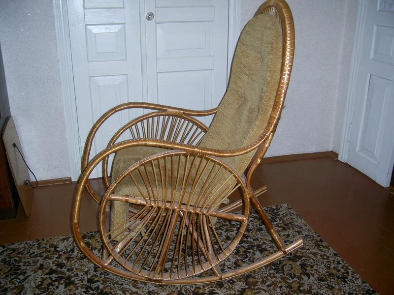 Кресло-качалка. - Фото 3