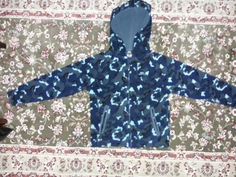 Флисовая кофта,флиска 7-8 лет