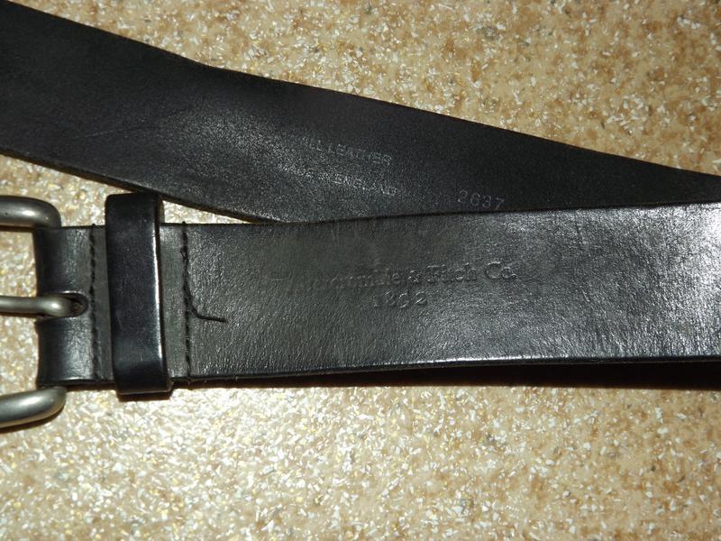 Кожаный ремень abercrombie & fitch - Фото 3