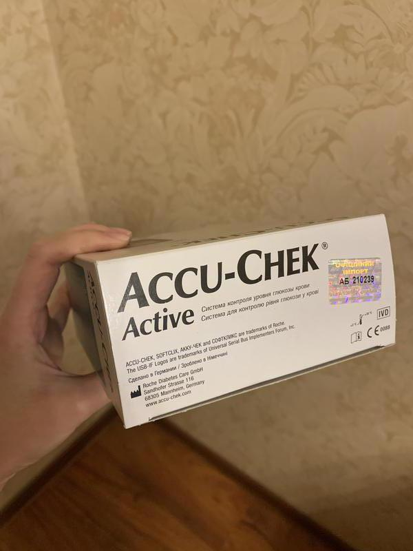Глюкометр Акку-Чек Актив Accu-Check Active - Фото 3