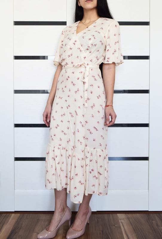 Платье в цветы primark (новое, с биркой) - Фото 2