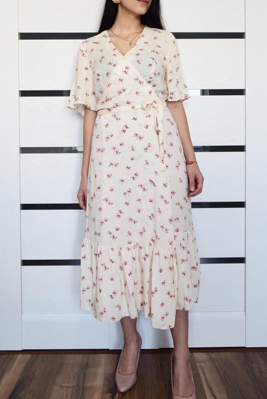 Платье в цветы primark (новое, с биркой) - Фото 3