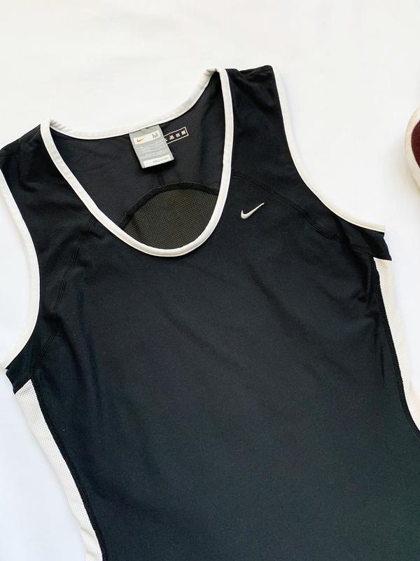 Спортивная майка, майка, черная, чорна, футболка, найк, nike, ... - Фото 3