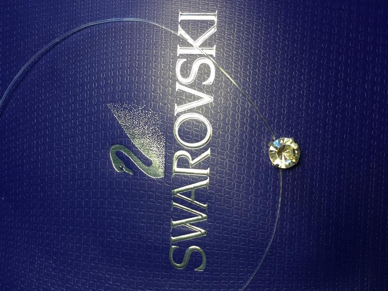 Камушек, кристалл Swarovski на леске - Фото 5
