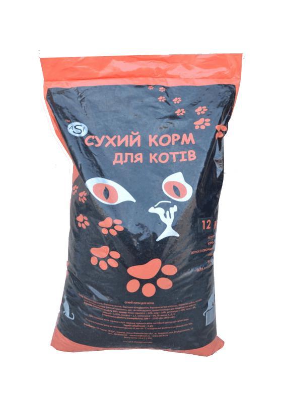 Кошачий сухой корм для котов кошек котят котів кішок кошенят ASI - Фото 8