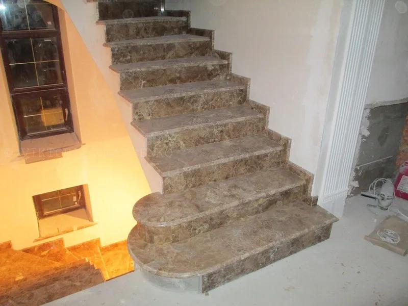 Мраморные и гранитные лестницы,крыльцо,ступени из мрамора гранита на IZI.ua (3262331)