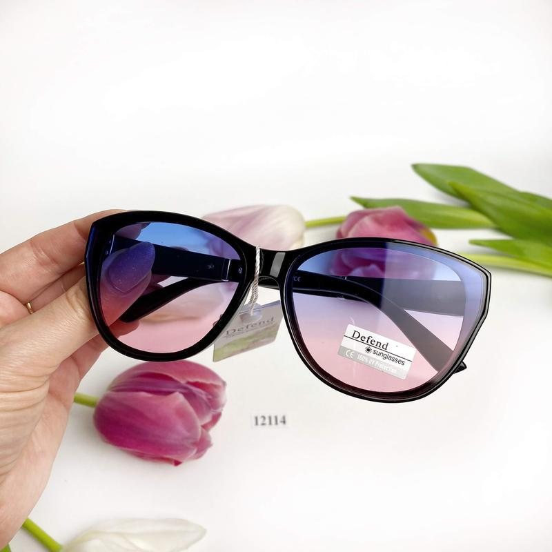Солнцезащитные очки с цветными линзами к.12114 - Фото 3