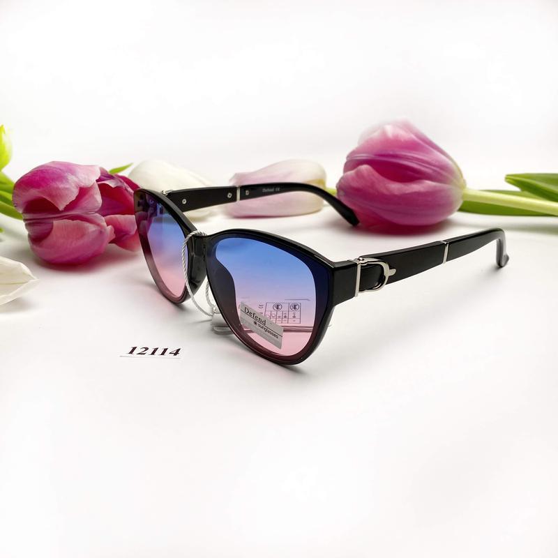 Солнцезащитные очки с цветными линзами к.12114 - Фото 5