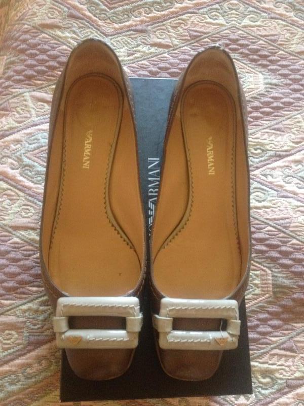 Брендовые, фирменные туфли(оригинал) emporio armani