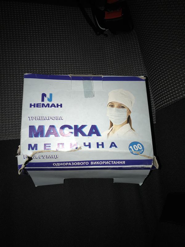 Маски одноразовые - Фото 3