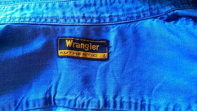 Фирменная джинсовая рубашка - Фото 2