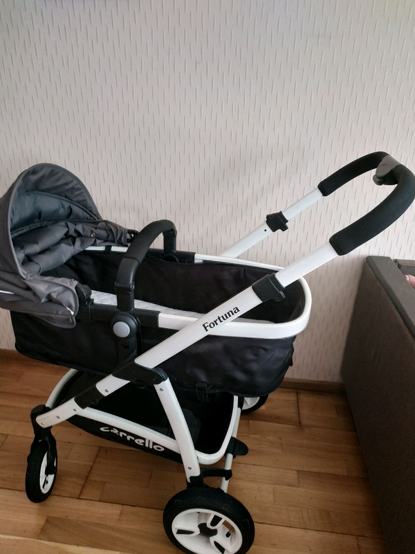 Детская коляска carello fortuna 3 в 1 - Фото 8