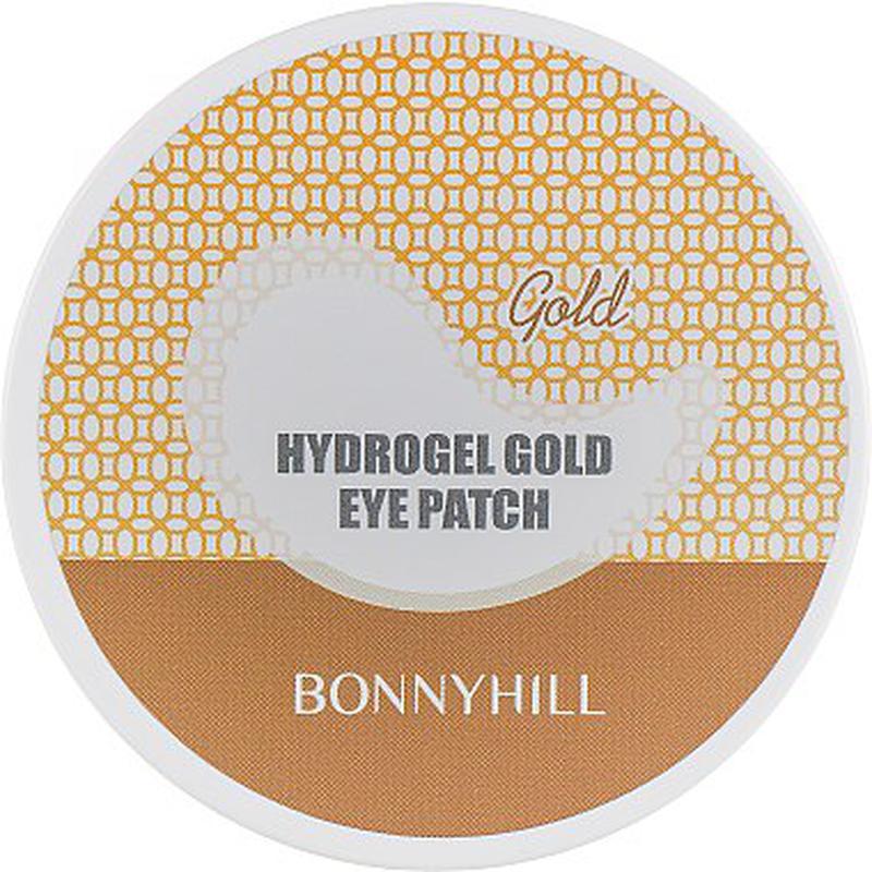 Гидрогелевые патчи под глаза золотые Bonnyhill Hydrogel Gold Eye - Фото 2