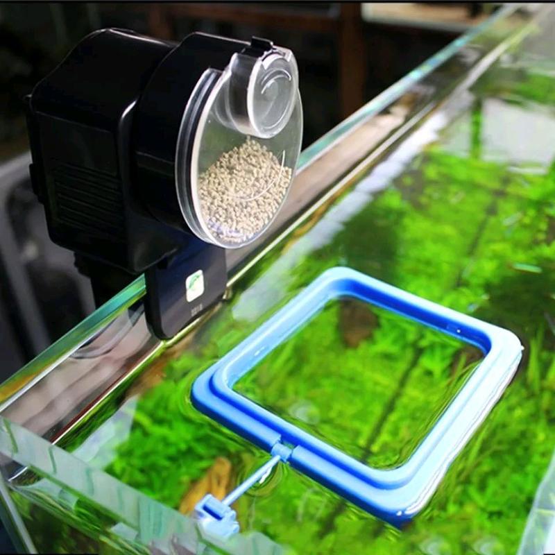 Автоматична годівниця для акваріума, автокормушка для аквариума. - Фото 2
