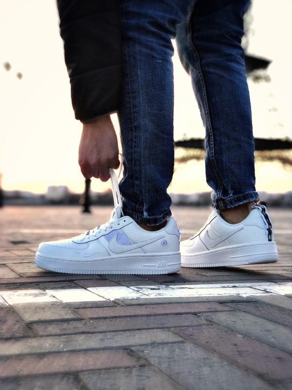 Мужские кроссовки nike air force 1 white 😍 - Фото 2