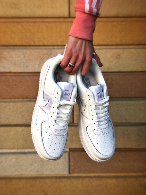 Мужские кроссовки nike air force 1 white 😍 - Фото 5