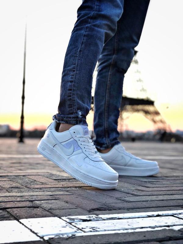 Мужские кроссовки nike air force 1 white 😍 - Фото 6