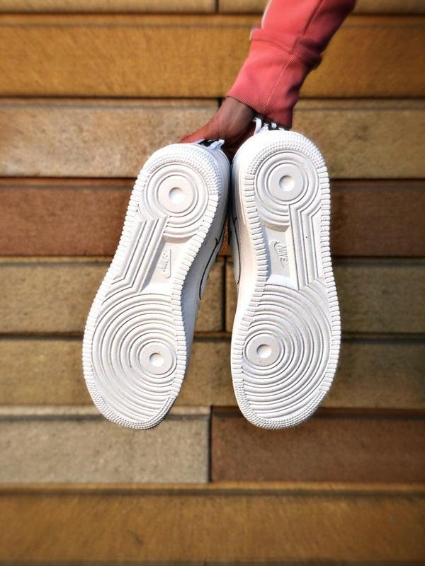 Мужские кроссовки nike air force 1 white 😍 - Фото 7