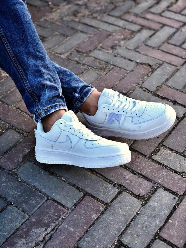 Мужские кроссовки nike air force 1 white 😍 - Фото 9