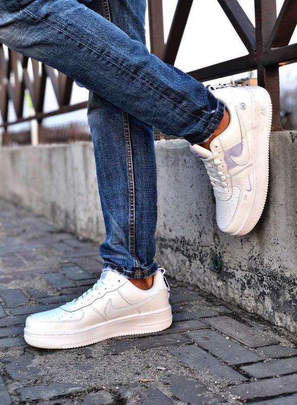 Мужские кроссовки nike air force 1 white 😍 - Фото 10