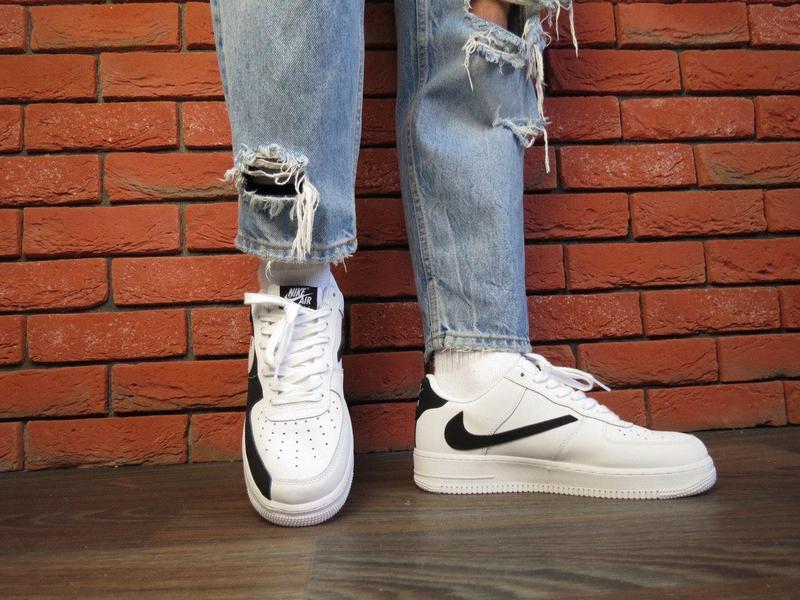 Мужские кроссовки nike air force 1 white 😍 - Фото 3