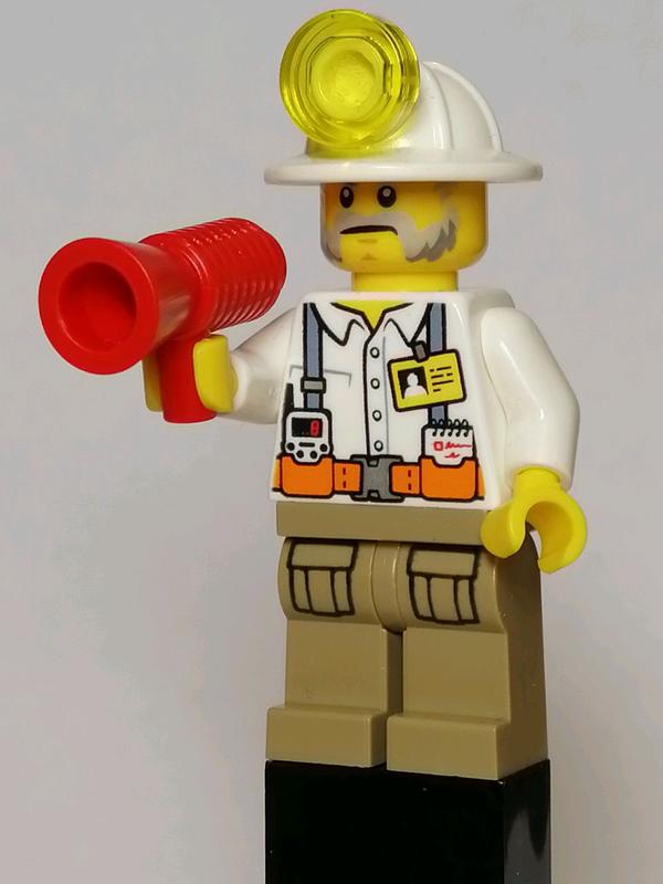 Лего Сити минифигурка