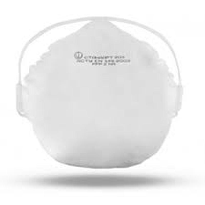 Маска -респиратор для лица степень защиты FFP2+ Перчатки 10шт лат - Фото 2