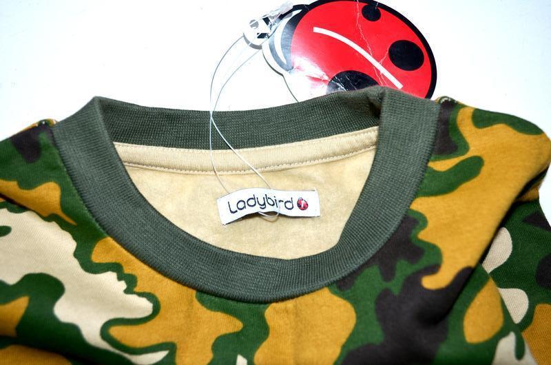 Ladybird. новый свитшот тёплый комуфляжный. 2-3 года - Фото 4