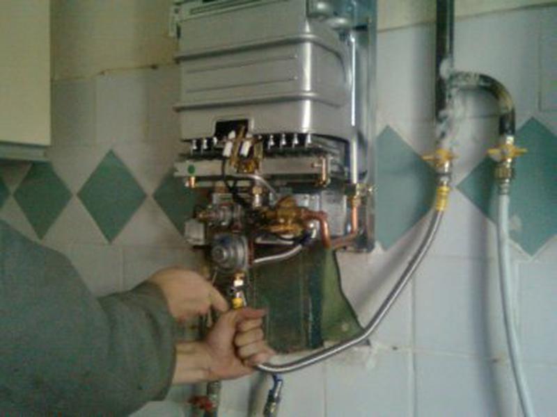 Ремонт газовых котлов, колонок на дому в Черкассах