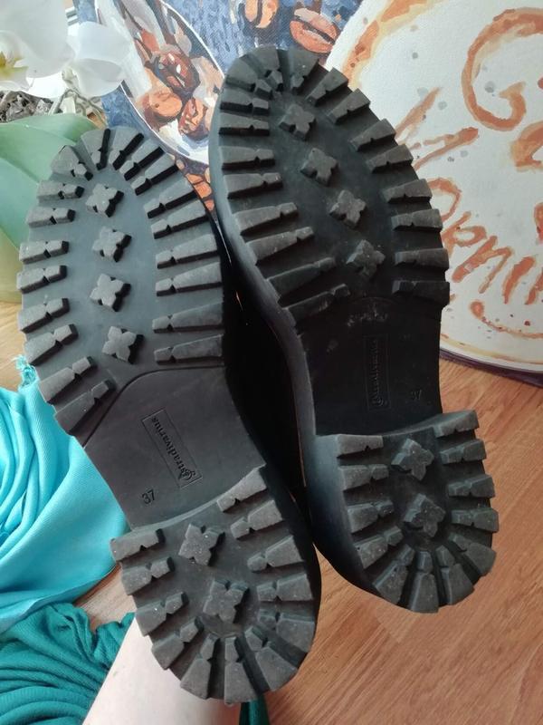 #розвантажуюсь женские туфли экозамша на грубой подошве stradi... - Фото 7