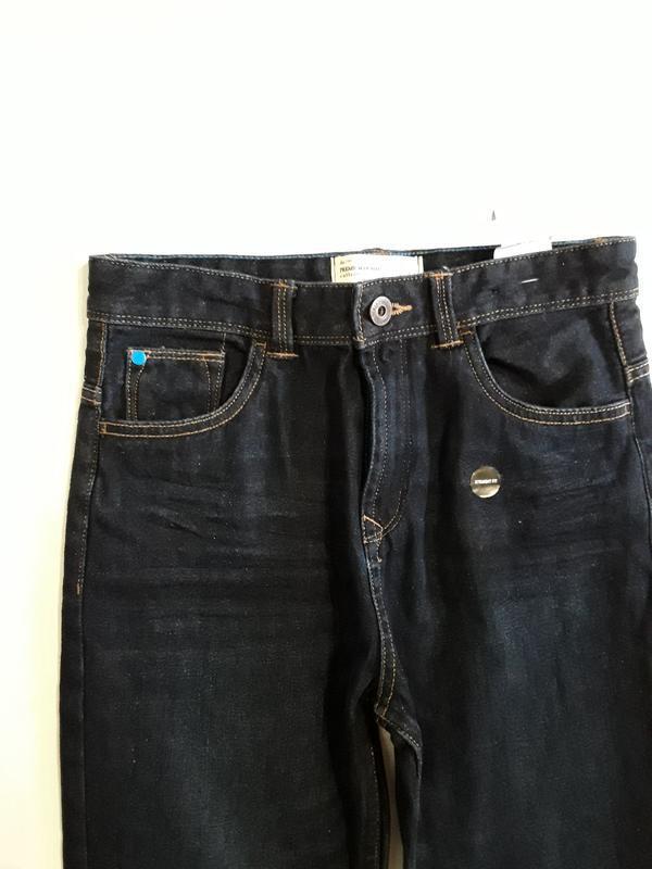 Фирменные джинсы 11-12 лет - Фото 4