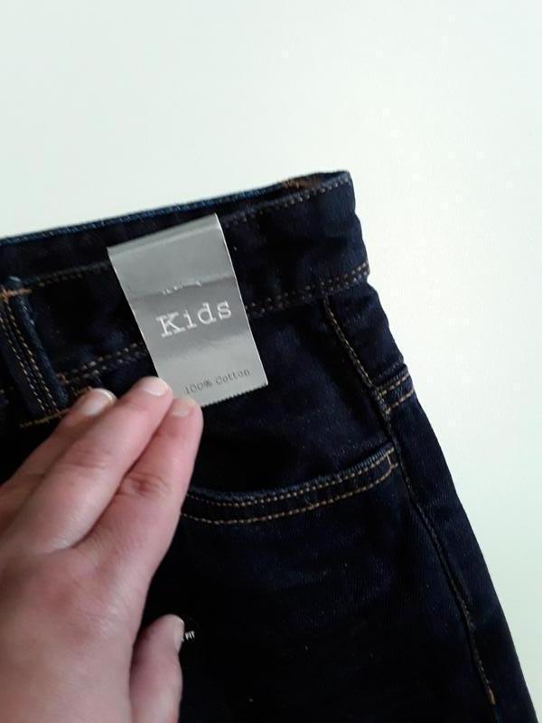 Фирменные джинсы 11-12 лет - Фото 6