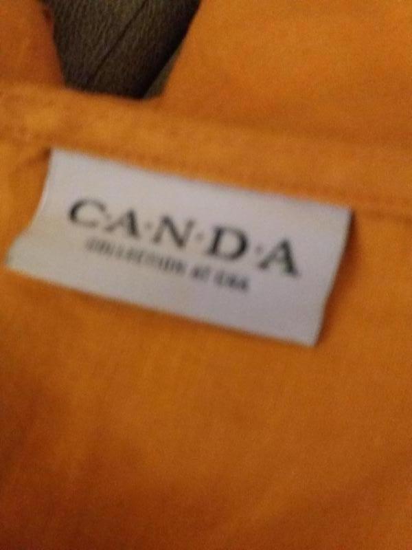 Натуральный лен..блузон -бренд--canda -хл\ 2хл лен-100%  к13 - Фото 4