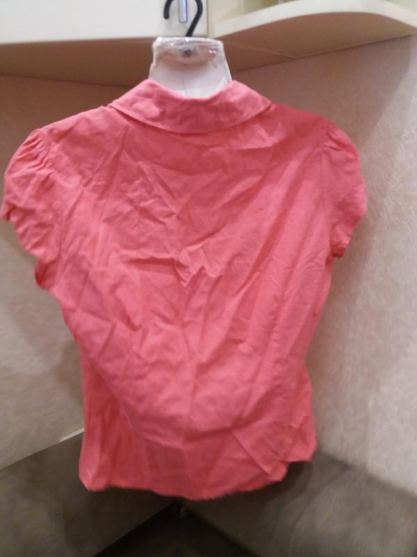 Яркая  рубашка   №17  на48-50р     лен       распродажа - Фото 4
