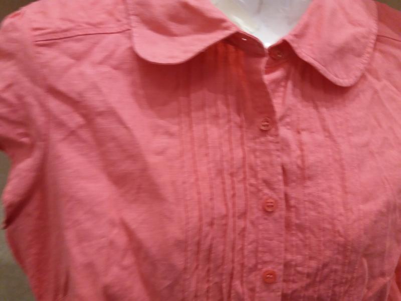 Яркая  рубашка   №17  на48-50р     лен       распродажа - Фото 5