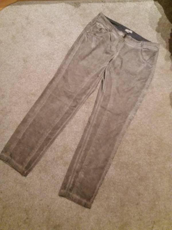 Брюки джинсы джегинсы стрейч имитация варенки -s.oliver--12 14... - Фото 5