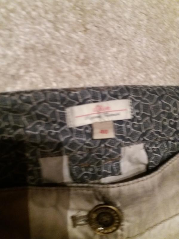 Брюки джинсы джегинсы стрейч имитация варенки -s.oliver--12 14... - Фото 6