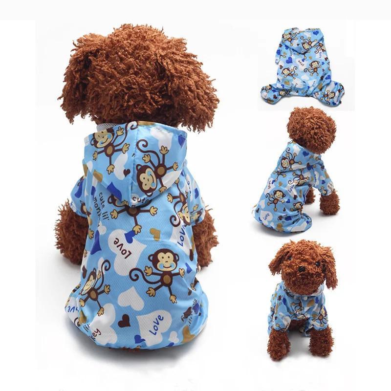 Куртка дождевик для собак мелких пород Monkey 2499-110