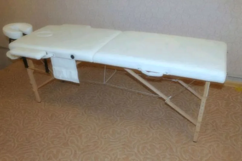 Стол массажный кушетка косметологическая для массажа - Фото 3