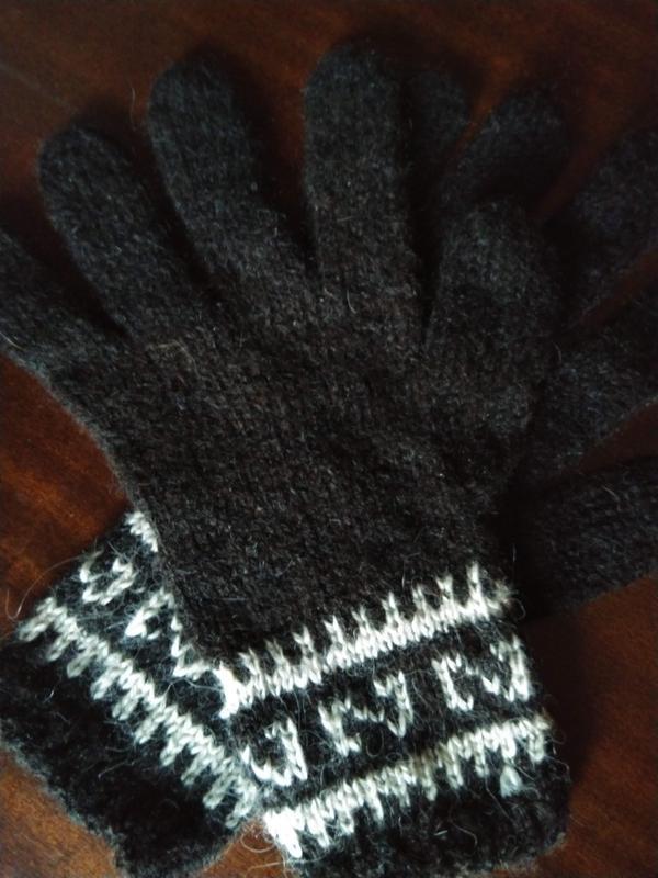 Перчатки альпака