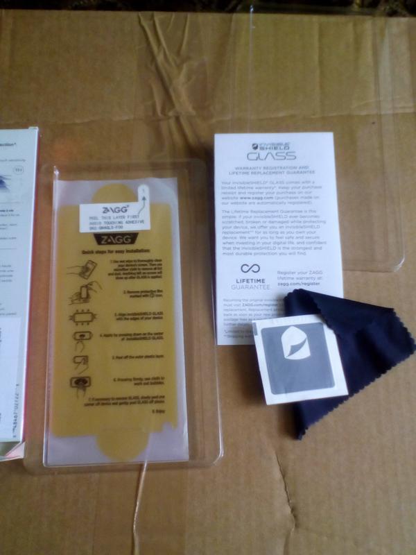 Защитное стекло SAMSUNG GALAXY Note 4 - Фото 2